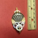 Vintage Enameled French Militaire Parachutist pin by Drago of Paris H597