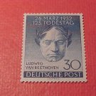 "German Scott's set #9N80 ""Ludwig van Beethoven"" March 26,1952"
