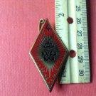 Vintage Enameled French Militaire Pin Y Delsart G942 Sens 89100