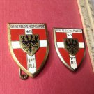 Vintage Enameled French Militaire pins G2118 from Drago of Paris
