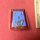 Beautiful Vintage Enameled French Militaire pin Arthus-Bertrand of Paris G2114