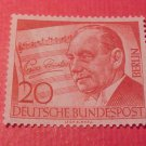 "German Scott's set #9N142 A28 ""Paul Linke, Composer"" Sept.3,1956"