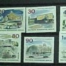 "German Scott's set #9N223-234 A53 ""Kaiser Wilhelm Memorial Church"" 1965-66"