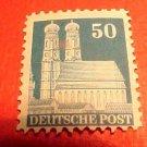 German Scott's #653a. A128 Perf.14 Our Lady's Church in Munich