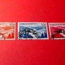 Saar Stamp Scott # C9-C11 AP3 April.1,1948