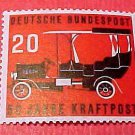 "German Scott's set #728 A157 ""1906 Automobile"" June 1,1955"