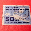 "German Democratic Republic Scott's # 48 ""Pigeon Letter and Globe"" Oct.9,1949"