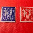 "German Democratic Republic Scott's # 49&50 ""Letter Carriers"" Oct.27,1949"