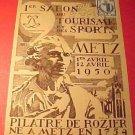 France Scott #519 A144, #557 A149,#560 A151 Rare Postcard Pilatre De Rozier 1950