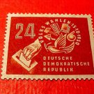 "German Democratic Republic Scott's #70 A13 ""Symbols of Democratic Vote"" 9/29/50"