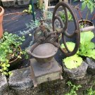 Antique Goldenberg Cast Iron Single Wheel Coffee Mill #2