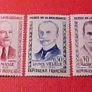 "France Scott set 959-963 A293 'Portraits"" Mar.26,1960"