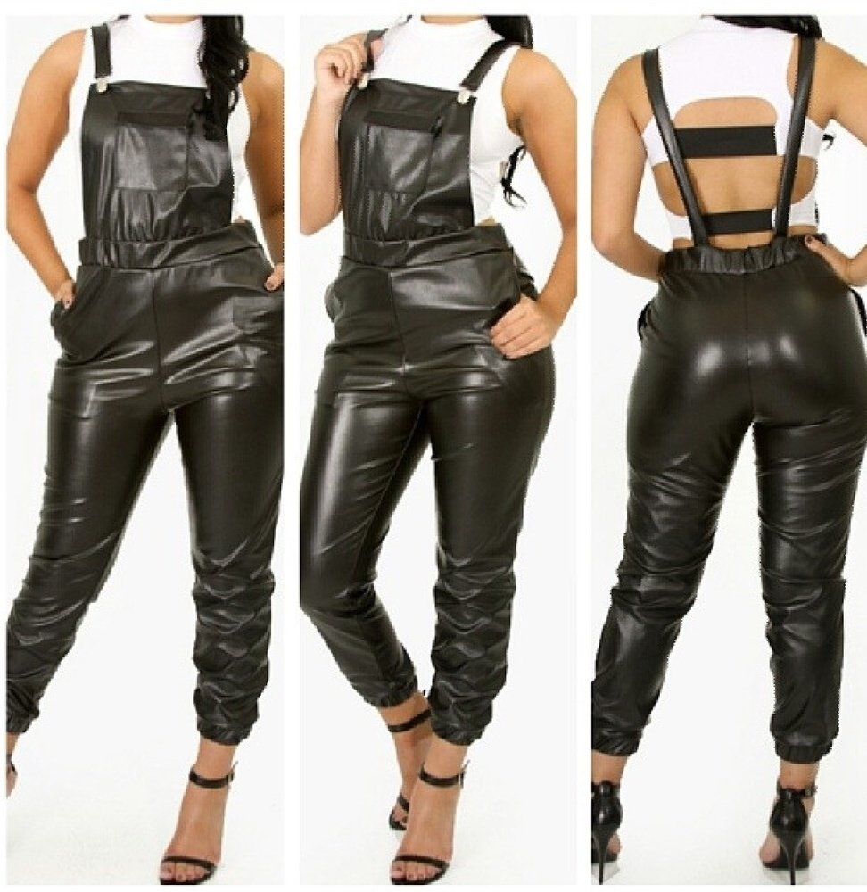 Leather Overall