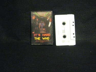 The Who It's Hard USA Cassette Tape 1982 Warner Brothers Records