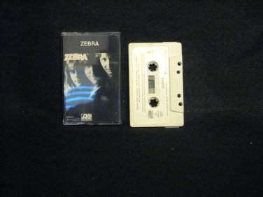 ZEBRA BY ZEBRA CASSETTE  1983 ATLANTIC 7-80054-4
