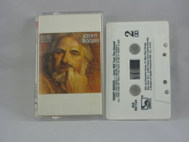 Love Will Turn You Around by Kenny Rogers (Cassette) Liberty Records- 1982