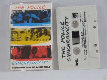 THE POLICE SYNCHRONICITY (Cassette) 1983 A & M