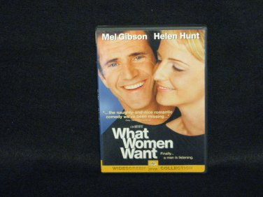 What Women Want (DVD, 2001, Widescreen)