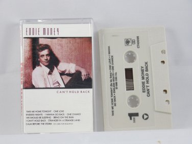 Can't Hold Back by Eddie Money (Cassette, )