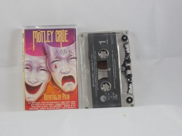 Theatre Of Pain by Motley Crue ( Cassette Elektra 1985 )