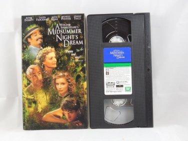 A Midsummer Night's Dream (VHS, 1999)