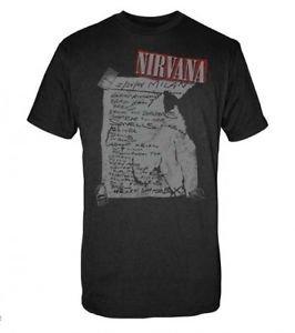 Nirvana Milan Set List T-Shirt