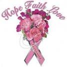 CANCER HOPE FAITH AND LOVE - T SHIRT - ADULT UNISEX