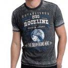 Rockline Premium Men's Dream Burnout T-Shirt