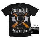 Steadfast Brand Killer Art Show Tattoo T-Shirt