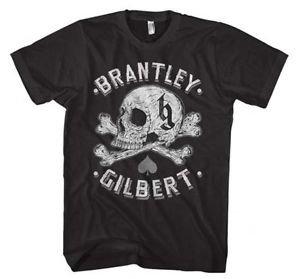 Brantley Gilbert Skull T-Shirt