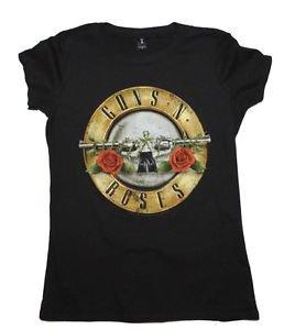 Guns n Roses Distressed Bullet Juniors T-Shirt