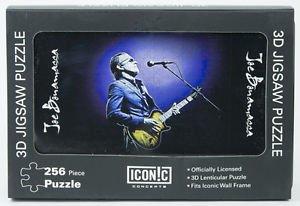 Joe Bonamassa Gold Guitar Blue Jacket 3D Puzzle