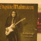 YNGWIE MALMSTEEN japan CD ANTHOLOGY Rock PROMO WITH BOOKLET PCCY excellent