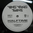 """YING YANG TWINS usa 12"""" HALFTIME STAND UP AND GET CRUNK Dj WHITE JACKET TVT"""