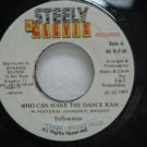 "YELLOWMAN jamaica 45 WHO CAN MAKE THE DANCE RAM 7"" Reggae STEELY-&-CLEVIE"