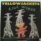 """YELLOW JACKETS usa display LIVE WIRES Rock 12"""" X 12"""" DOUBLE-SIDED POSTER. THIS I"""