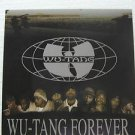 "WU TANG usa display FOREVER Dj 12"" X 12"" DOUBLE-SIDED POSTER. THIS IS NOT AN LP"