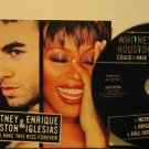 WHITNEY HOUSTON & ENRIQUE IGLESIAS usa CD COULD I HAVE THIS KISS FOREVER Pop PRO