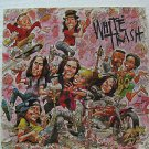"WHITE TRASH usa display S/T SELF SAME UNTITLED Rock 12"" X 12"" DOUBLE-SIDED POSTE"
