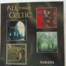 "VARIOUS NARADA usa display ALL THINGS CELTIC 12"" X 12"" DOUBLE-SIDED POSTER. THIS"