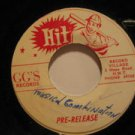 """UNKNOWN usa 45 PRE RELEASE 7"""" excellent"""
