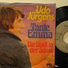 "UDO JURGENS mexico 45 TANTE EMMA 7"" Vocal PICTURE SLEEVE ARIOLA"