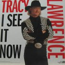 "TRACY LAWRENCE usa display I SEE IT NOW Country 12"" X 12"" DOUBLE-SIDED POSTER. T"