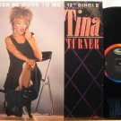 """TINA TURNER usa 12"""" BETTER BE GOOD TO ME Soul PROMO CAPITOL 8609 excellent"""