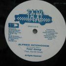"TAXI GANG & NEVILLE HINDS usa 12"" ALFRED HITCHCOCK Reggae WHITE JACKET VP"