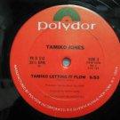 """TAMIKO JONES usa 12"""" TAMIKO LETTING IT FLOW Dj WHITE JACKET POLYDOR"""