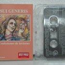 SUI GENERIS argentina cassette CONFESIONES DE INVIERNO Rock ARGENTINE ROCK SONY