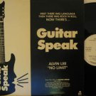 """STEVE HOWE/ALVIN LEE usa 12"""" GUITAR SPEAK Rock PROMO IRS excellent"""