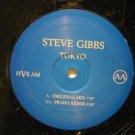 """STEVE GIBBS u.k. 12"""" TOKYO Dj FIVE AM"""
