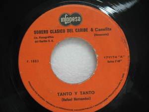 """SONERO CLASICO DEL CARIBE peru 45 TANTO Y TANTO 7"""" Latin INFOPESA"""